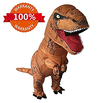 T-Rex Costume Inflatable Dinosaur Costume for Adult Halloween Inflatable Costume