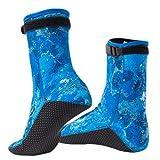 Neoprene Water Socks Adjustable Snorkeling Scuba Diving Boots for Beach Pool Swimming Surfing