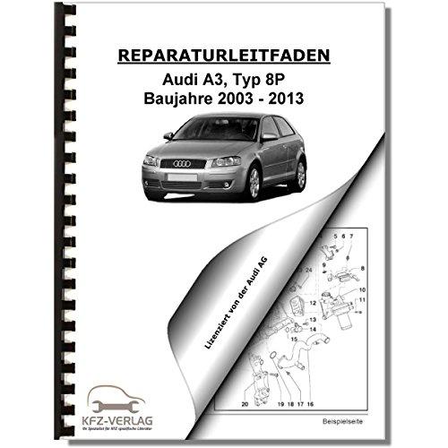 Typ 8P Reparaturanleitung Audi A3 03-13 Benziner Einspritz ...