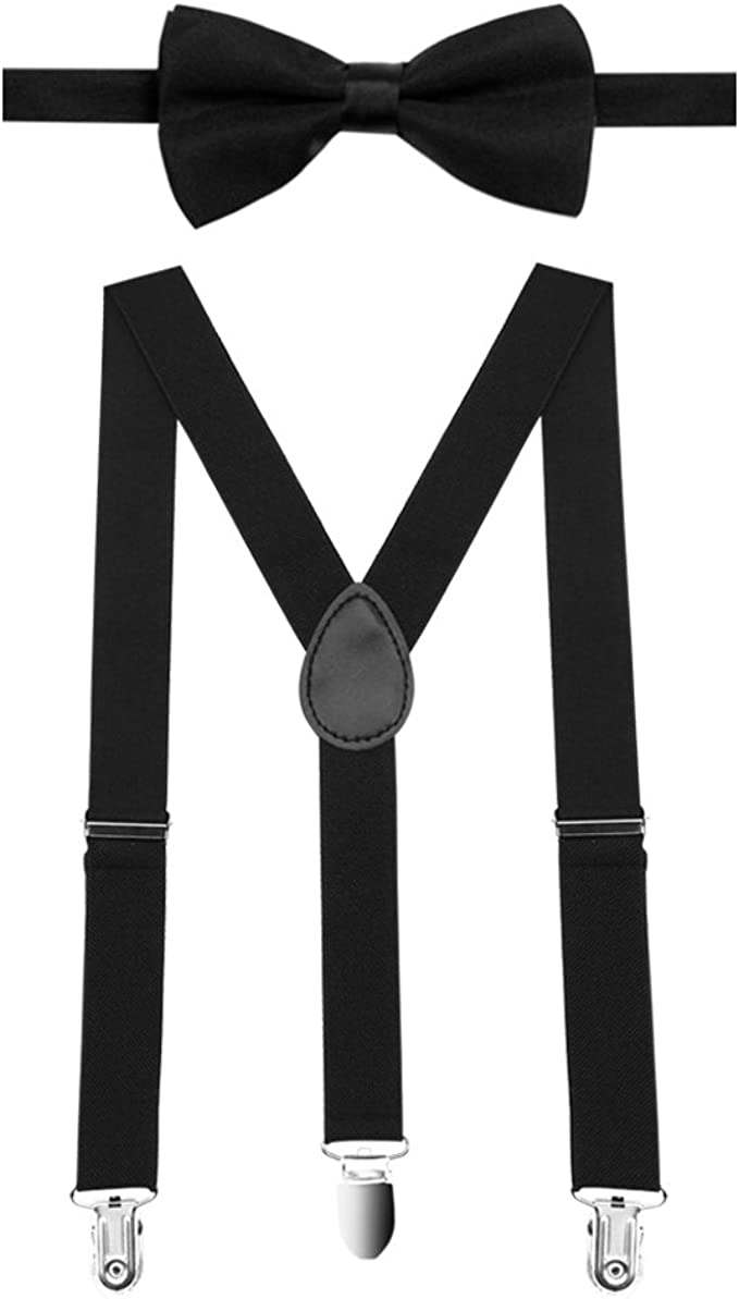 chiwanji Kinder Hosentr/äger Y-Form Verstellbarer Elastischer Hosentr/äger Breite 2.5 cm