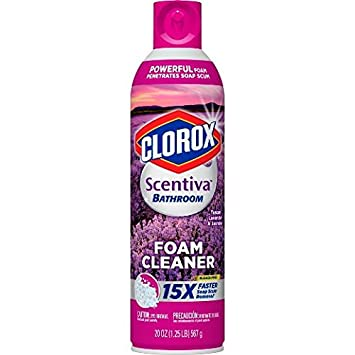amazon com clorox scentiva foam cleaner tuscan lavender jasmine