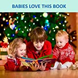 ToBeReadyForLife Cloth Book Baby Soft Books Newborn Babies, 1 Year Old & Toddler, Educational Toy Boy & Girl, Touch Feel Activity, Crinkle Peekaboo, Gift Box, Shower Gifts
