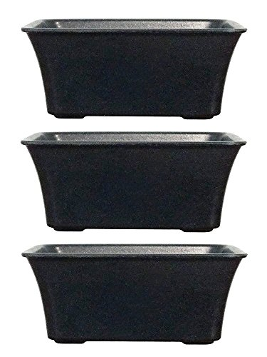 Recyclable Materials (Bonsai Pot 3 Set Bundle - Eve's 6