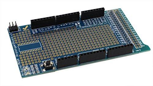 USPRO® Arduino ProtoShield expansion board V3 with mini bread board for Arduino MEGA