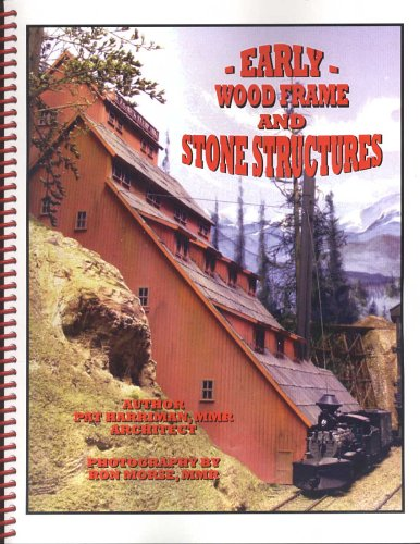 Early Wood Frame and Stone - Structures Scale Ho Wood