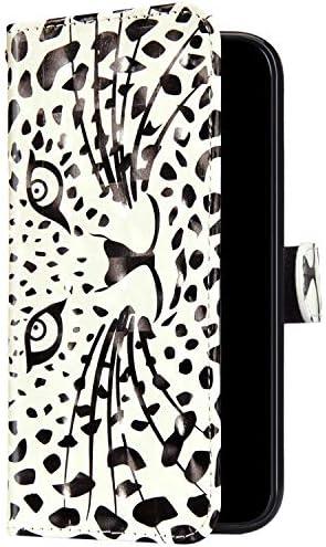 Uposao Kompatibel mit Samsung Galaxy A10 Hülle Leder Handyhülle Glänzend Glitzer Bling Bunt Muster Wallet Hülle Klapphülle Brieftasche Schutzhülle Flip Case Magnet Kartenfach,Löwe