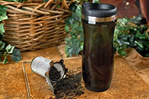 Travel Tea Mug - Mesh Tea Strainers - Tea Infusers