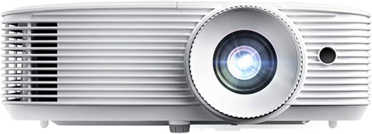 Optoma HD39HDR High Brightness HDR Home Theater Projector | 120Hz Refresh Rate | 4000 lumens | Fast 8.4ms Response time with 120Hz | Easy Setup with 1.3X Zoom | (Renewed)