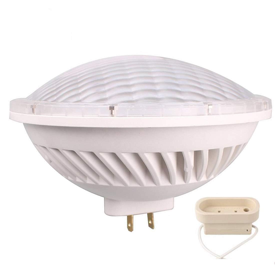 BAOMING Par56 LED Bulbs Dimmable Light 300W Equivalent PAR56 Halogen Replacement LED PAR56 28W 24°Deg Spot Light Warm White 2700~3000K AC 120V GX16D Base