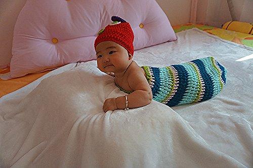 CHENXIN Hand woven Caterpillar Infant Newborn Unisex Baby Photograph Props