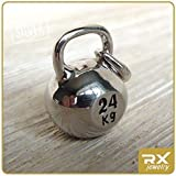 Kettlebell Pendant Bodybuilding Weightlifting Fitness Jewelry Sport Necklace Lift Weights Strong Man Woman Kettle Bell Sterling Silver Charm Gym Gift