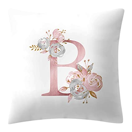 The Best Cartoon Letter Pillow Kids Room Decoration Letter Pillow English Alphabet Polyester Cushion Sofa Home Decoration Pillow Toys & Hobbies