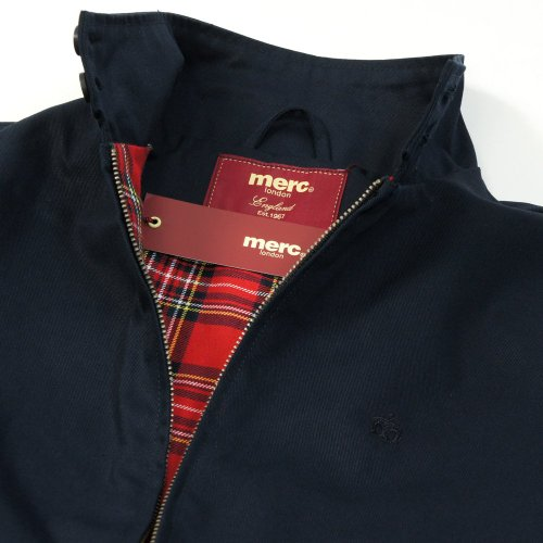 London Uomo Marine Harrington Da Blu bleu Of Merc Giacca jacket 5xqaCRxw4