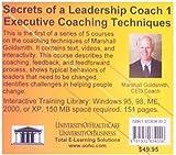 Secrets of a Leadership Coach 1: Executive Coaching Techniques (No. 1)