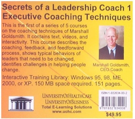 Secrets of a Leadership Coach 1: Executive Coaching Techniques (No. 1)