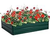 K&A Company Planter Garden Raised Bed Patio Vegetable Flower Box Grow Backyard Outdoor Plants New 47.2''x35.4''