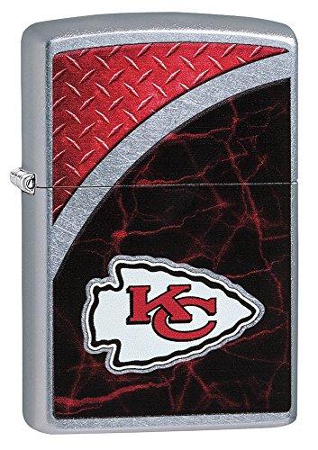 Zippo NFL Kansas City Chiefs Street Chrome Pocket Lighter