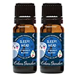 Edens Garden Sleepy Head Value Pack Synergy Blend 100% Pure Undiluted Therapeutic Grade GC/MS Certified Essential Oil