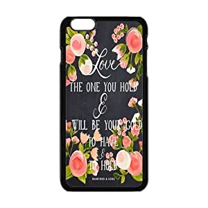 "Never Grow Up Quotes Rubber Protection Custom Plastic Cover Case for iPhone 6 (4.7"")"