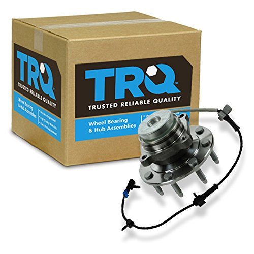 TRQ Wheel Hub & Bearing Front for Chevy GMC Van Pickup Truck 2x4 2WD 8 Lug