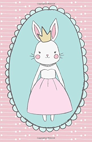Bunny Journal (Bullet Journal: Bunny Princess Pink Notebook Dotted Grid, (5.5 x 8.5))