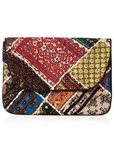Topshop Mujer Bordado Patchwork multicolor Bolso de mano: Amazon.es: Zapatos y complementos