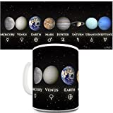 Funny Mugs For Men Rude Solar System Planets By Twisted Envy 15 OZ