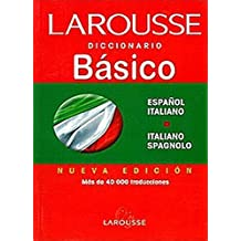 Diccionario básico español - italiano