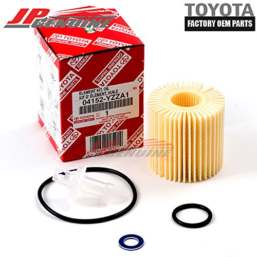 Genuine OEM Toyota Lexus Scion Oil Filter + Drain Plug Gasket 04152-Yzza1