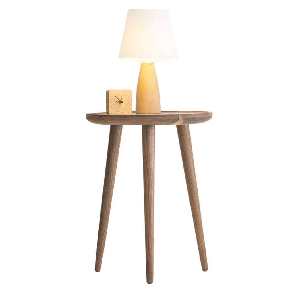 Coffee Tables Telephone Tables Telephone Table Bedside Table Modern Minimalist Home Solid Wood Sofa Side Living Room Round Club Side Round Bedside Table 50cm Console Table by Coffee Tables