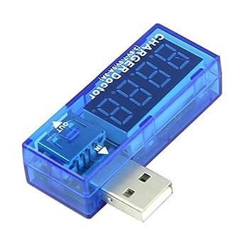 Digital dispay 3V-v Mini LCD USB voltage courant d/étecteur Mobile Power USB testeur Meter