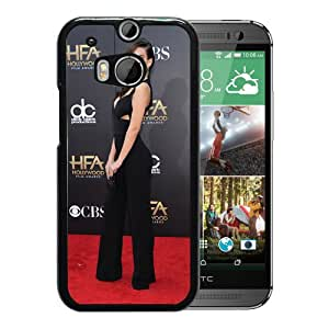 Beautiful Girl Cover Case For HTC ONE M8 With Emily Ratajkowski Girl Mobile Wallpaper(42) Phone Case