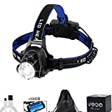 Best Headlamps - Ximito Rechargeable headlamp Super Bright 5000 Lumens Zoomable Review