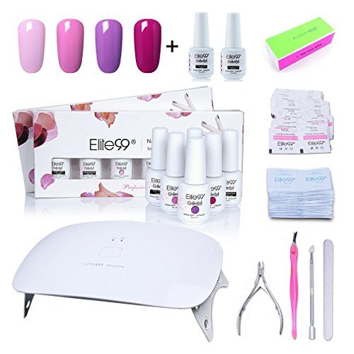 soak gel nail polish kit