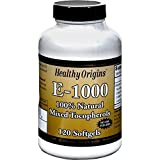 Healthy Origins Vitamin E 1000Iu 120 Sgel