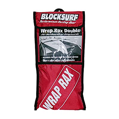 Block Surf Wrap-Rax Soft Rack Double : Surfboard Car Racks : Sports & Outdoors