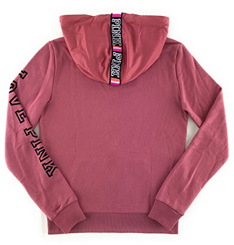 Victoria's Secret PINK Perfect Zip Hoodie Soft Begonia X-Small by Victoria's Secret (Image #2)