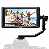 ESDDI F5 5 Inch Camera Field Monitor Full HD IPS Screen Support 4K HDMI Input 1920 x 1080 with Rechargeable Li-ion Battery, Battery Charger and USB Suitable for Canon Nikon Sony Camera