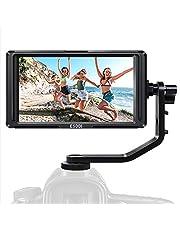 Kamera Monitor-ESDDI F5 5 Zoll Full HD IPS Bildschirm Monitor unterstützt 4K HDMI Input 1920x1080 wiederaufladbarer Li-ion Akku inklusive USB-Akkuladegerät für Sony Canon Nikon Kameras