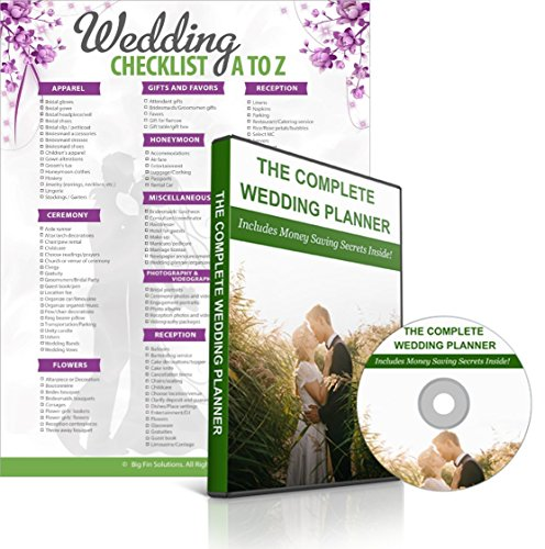 Ultimate Wedding Planner Checklist Engagement product image