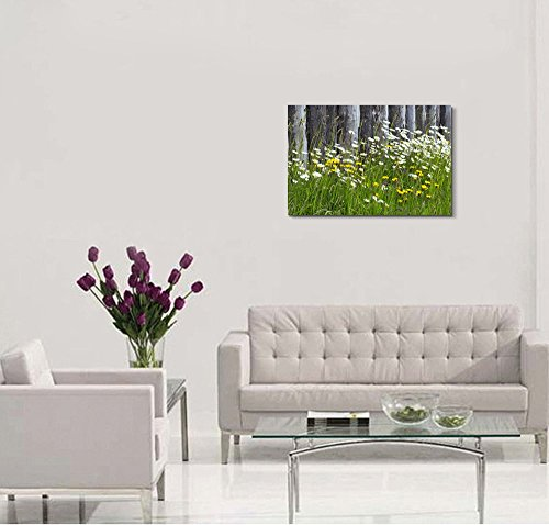 Wild Flowers on The Meadow Wall Decor