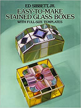"""""NEW"""" Easy-to-Make Stained Glass Boxes: With Full-Size Templates (Dover Stained Glass Instruction). atuendo largest Honda senalizo Tienen network"