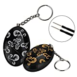 Seeus 2 Pack Personal Alarm 140db SOS Emergency Personal Alarm Keychain Security Alarm Self Defense Alarm for Elderly Kids Students Women Adventurer Night Workers Anti-Theft Alarm Policeman Recommend