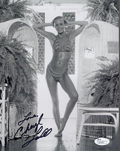 Cheryl Ladd Hand Signed 8X10 Photo Sexiest Bikini Pose Sexy Body Jsa