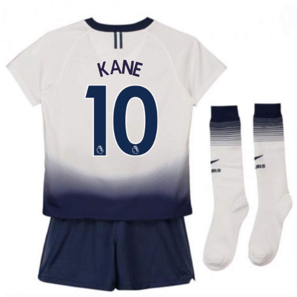 UKSoccershop 2018-2019 Tottenham Home Nike Little Boys Mini Kit (Harry Kane 10)