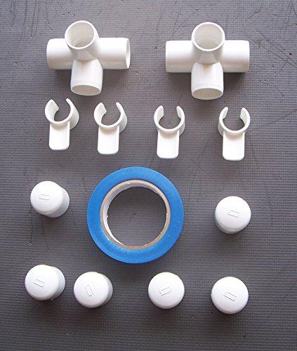 Agility Gear Fixed Base Practice Jump Kit (use with 1 inch PVC) by Agility Gear
