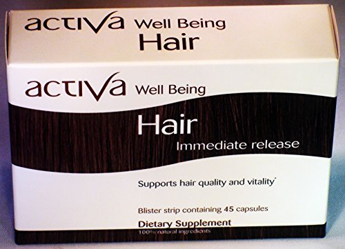 - Activa Well Being Hair - Immediate Release