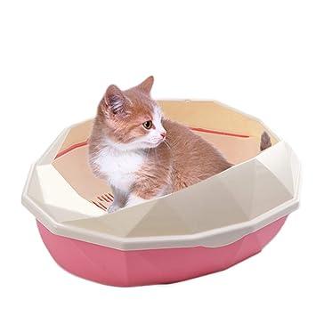 LTLJX Caja de Aseo para Mascota, Interior Duradera Plástica ...