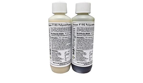 Axson F190 largo Pot vida resina de poliuretano para fundir, se puede pintar - 500 g kit: Amazon.es: Bricolaje y herramientas