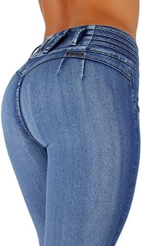 Style K064– Colombian Design, High Waist, Butt Lift, Levanta Cola, Skinny Jeans